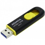 Флешка A-Data DashDrive UV128 Black/Yellow 32GB [AUV128-32G-RBY]