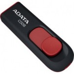 Флешка A-Data C008 Black+Red 32 Гб [AC008-32G-RKD]