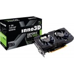 Видеокарта Inno3D GeForce GTX 1050 Ti Twin X2 4GB GDDR5