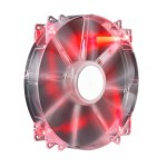 Вентилятор для корпуса Cooler Master MegaFlow 200 Red LED (R4-LUS-07AR-GP)